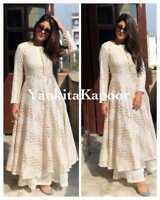 Indian kurta dress With  palazzo Top Tunic Set blouse Combo Ethnic Bottom -id10