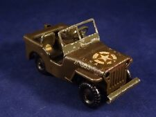 Ancienne voiture mécanique 2nde guerre JEEP G.I Minic TOYS TRI-ANG England 1950