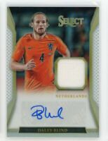 2016-17 Daley Blind 74/90 Auto Jersey Panini Select Autographs Silver