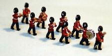 10 Guard Marching Band A113p PAINTED N Gauge Scale Langley Models People Figures