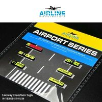 1/400 Airport Taxiway Direction Sign
