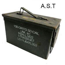 U.S 50CAL AMMO BOXES (EMPTY)