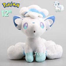 30cm Pokemon Ice Alolan Alola Vulpix Plush Toy Stuffed Ainmal Doll 12'' Teddy