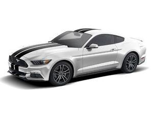 Genuine 3M 1080 G212 Gloss Black Metallic Twin Stripe kit for Ford Mustang 2015+