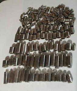 HUGE Vintage Craftsman USA STD Metric SOCKET *LOT* tools mechanic tool wrench