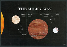 Nevis 2018 MNH Milky Way Mars Phobus Deimos 3v M/S I Planets Space Stamps