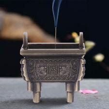 Buddhist Incense Burner Chinese Mini Tripod Stick Incense Holder Craft Decor coi