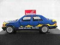 "Herpa 180863 Mercedes-Benz 190 E (1988) ""Sixt Art Car"" 1:87/H0 NEU/OVP/PC"