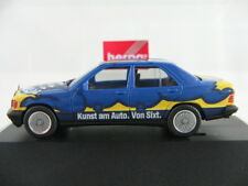 "Herpa 180863 Mercedes-Benz 190E (1988) ""Sixt Art Car"" 1:87/H0 NEU/OVP/PC"
