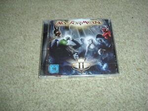 VARIOUS - ALL FOR METAL VOL 2 - CD + DVD - NEW - DORO, JORN, SINNER, ROB ROCK