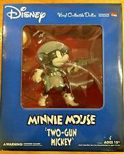 New listing Disney Medicom Toy Vinyl Collectible Doll Minnie Mouse Two-Gun New Rare Htf
