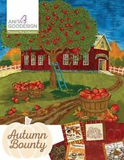 Anita Goodesign Premium Plus Autumn Bounty Embroidery Machine CD (CD ONLY)