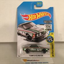 '73 BMW 3.0 CSL Race Car * ZAMAC * 2017 Hot Wheels FACTORY SET Edition