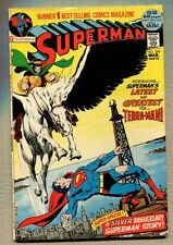Superman #249 - The Challenge Of The Terra-Man! - 1972 (Grade 7.0) WH