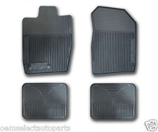 OEM NEW 2010-2012 Ford Fusion All-Weather Vinyl Floor Mats Rubber