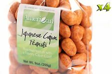 36oz Gourmet Style Bags of Delicious Japanese Cajun Peanuts [2 1/4 lbs.]