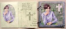 Gensomaden Saiyuki Hakkai voice card & scrapbook