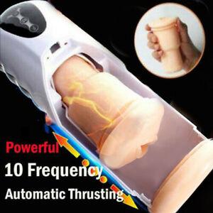 Heating Male Fully AUTOMATIC Masturbator Electric Masturbation SEX TOYS FOR MEN