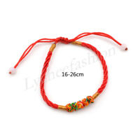Chinese Feng Shui Lucky Red String Thread Bracelet Lucky Jewelry for Women 1pc
