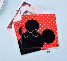 25 Pcs Set, Minnie Mouse Candy/Cookie bag Kids Birthday Party Supply