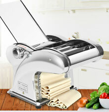 220V Electric Dumpling Dough Skin Noodles Pasta Maker Machine Automatic 4 Kinds