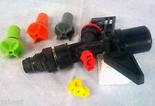 Mini TORBO LONGE DISTANCE SPRINKLER.  5 changeable nozzles. NETAFIM made