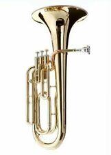 HAWK Student 3 Valves Gold Lacquered Baritone Horn Sbar