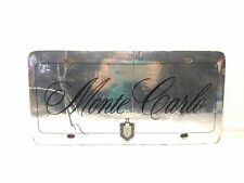 Rare 1978 Vintage Chevrolet Monte Carlo Dealer Showroom Booster License Plate