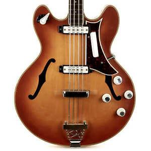 Vintage EKO 990 Bass Sunburst 1960s