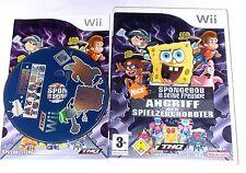 Spiel: SPONGEBOB Angriff der SPIELZEUGROBOTER für Nintendo Wii + WiiU