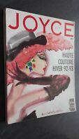 Revista Joyce Alta Costura Otoño Invierno 92-93 N º 36 Sept - Oct 1992 ABE