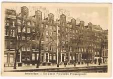 Ansichtkaart Nederland : Amsterdam - De Zeven Provinziën Prinsengracht (a051)