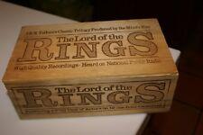 The Mind's Eye J.R.R.Tolkien's The Lord Of The Rings 12 casset 00004000 tes wooden box