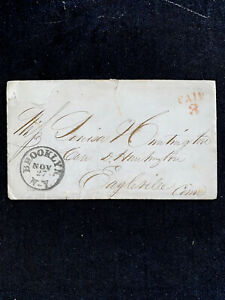 1834 Hand stamp  With Letter