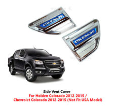 CHROME SIDE VENT SIDE VENTS COVER FOR CHEVROLET HOLDEN COLORADO 2012 2013 - 2016