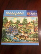 Bonnie White Heartland Cooling Off Jigsaw Puzzle 1000 PCS #30677