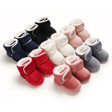 Infant Winter Snow Boots Baby Boy Girl Comfortable Crib Shoes Corduroy Warm Boot