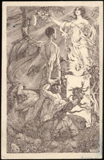 cartolina militare 1923 PLEBISCITO STATUTO diretta a MUSSOLINI e.anichini