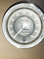 MG Midget Smith speedometer Gauge Austin Sprite 27939 miles SN 6135/00 FREE SHIP