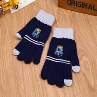Harry Potter COS Gloves Gryffindor College Knitted Phone Touch Screen Ravenclaw