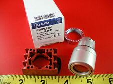 GE P9MPLRGV Pushbutton Switch Red Glass Lens Operator Illuminated 184521 New