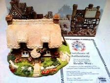 """Lilliput Lane Cottage """"Bridal Way"""" Collector's Club Special, Cert, In Box, Ret"""
