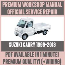* Workshop Manual Service & Repair Guide for SUZUKI CARRY 1999-2013 + wiring