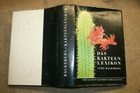 Kakteenlexikon 1977, 3000 Kakteen in Wort & Bild, Sorten, morphologische Details