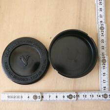 nice Voigtlander Helomar Skopar Heliar Anastigmate circular black plastic box