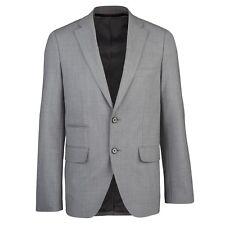 NWT TUMI classic travel blazer 44 gray jacket sport coat $595 w/ RFID ID Lock