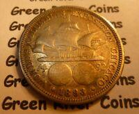 1893 Columbian Expo US COMMEMORATIVE HALF DOLLAR SILVER COIN QB93-3