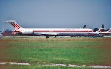Original Slide Martinair McDonnell Douglas MD-82 PH-MBZ CN 49144 LN 1096 swiss