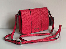 2a6ecf12a97 GUESS SANDHILL MINI LIPSTICK RED FLAP CROSSBODY SLING BAG PURSE SALE