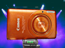 CANON SD1400 IS ORANGE-MECHANICALLY RECONDITIONED-HELPS REDUCE HAND SHAKE
